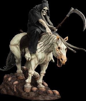 The Reaper Polystone Statue
