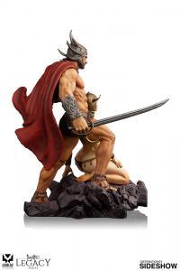 Gallery Image of The Swordsman of Mars Polystone Statue