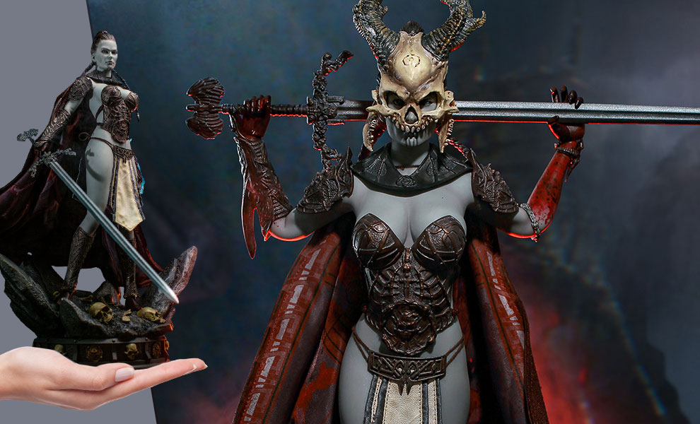 Gallery Feature Image of Kier - First Sword of Death Sixth Scale Figure - Click to open image gallery
