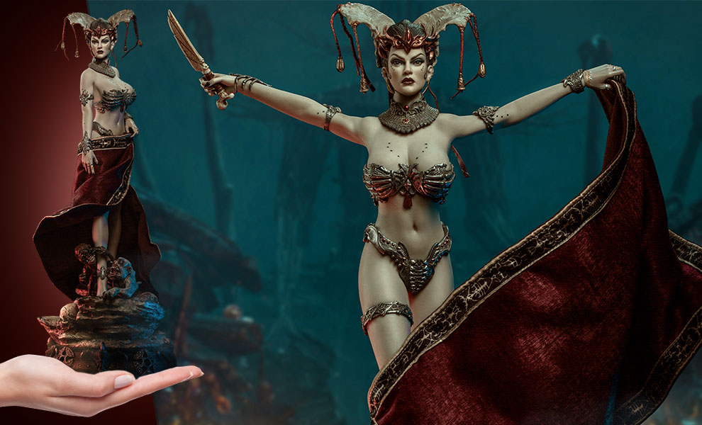 Gallery Feature Image of Gethsemoni The Dead Queen Sixth Scale Figure - Click to open image gallery