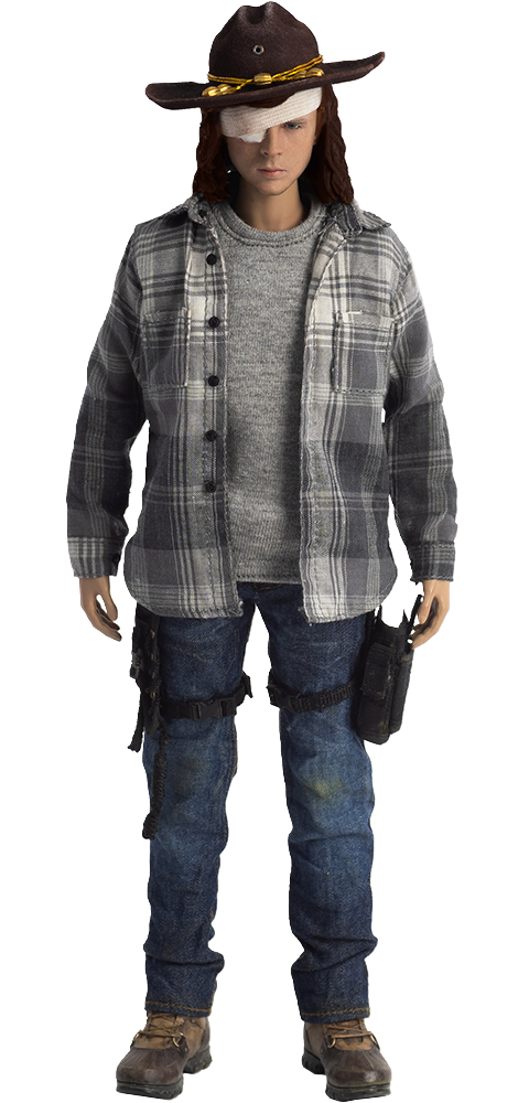 Threezero Carl Grimes Sixth Scale Figure