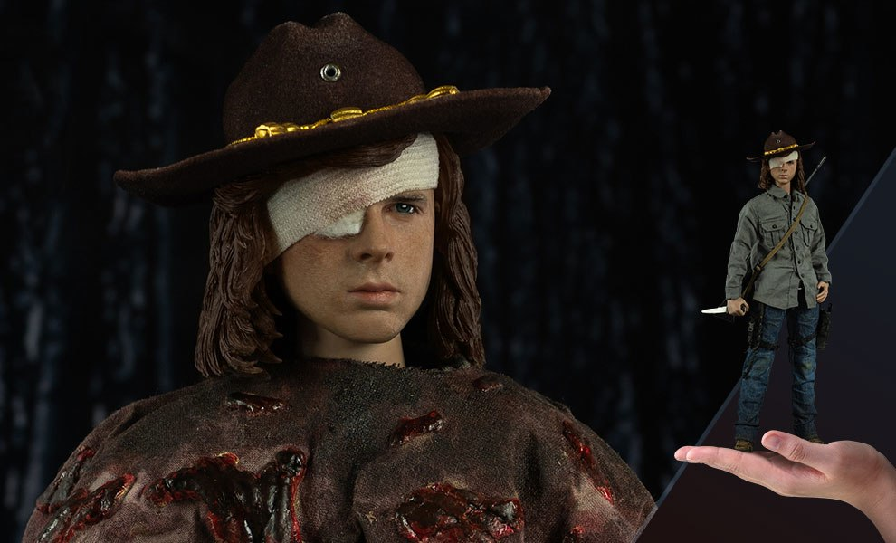 Gallery Feature Image of Carl Grimes Deluxe Version Sixth Scale Figure - Click to open image gallery