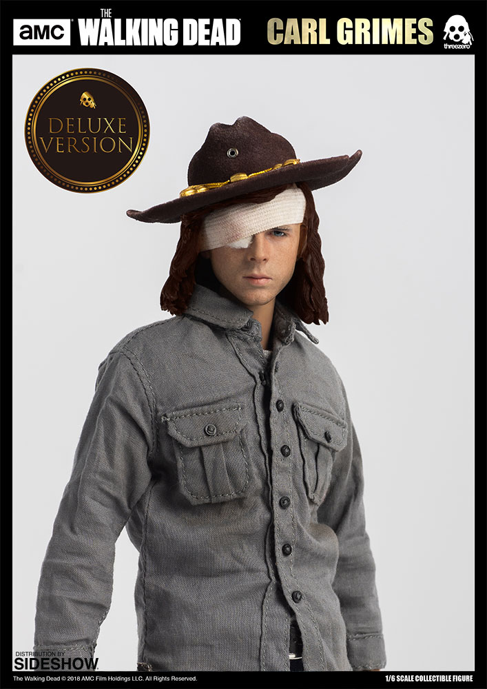 The Walking Dead Carl Grimes Deluxe Version Sixth Scale Figu Sideshow