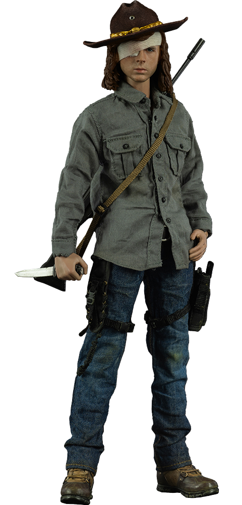 Threezero Carl Grimes Deluxe Version Sixth Scale Figure