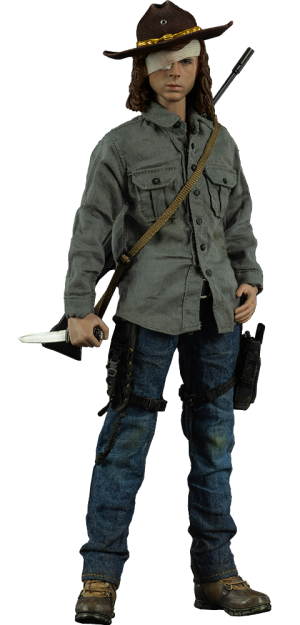 Carl Grimes Deluxe Version Sixth Scale Figure