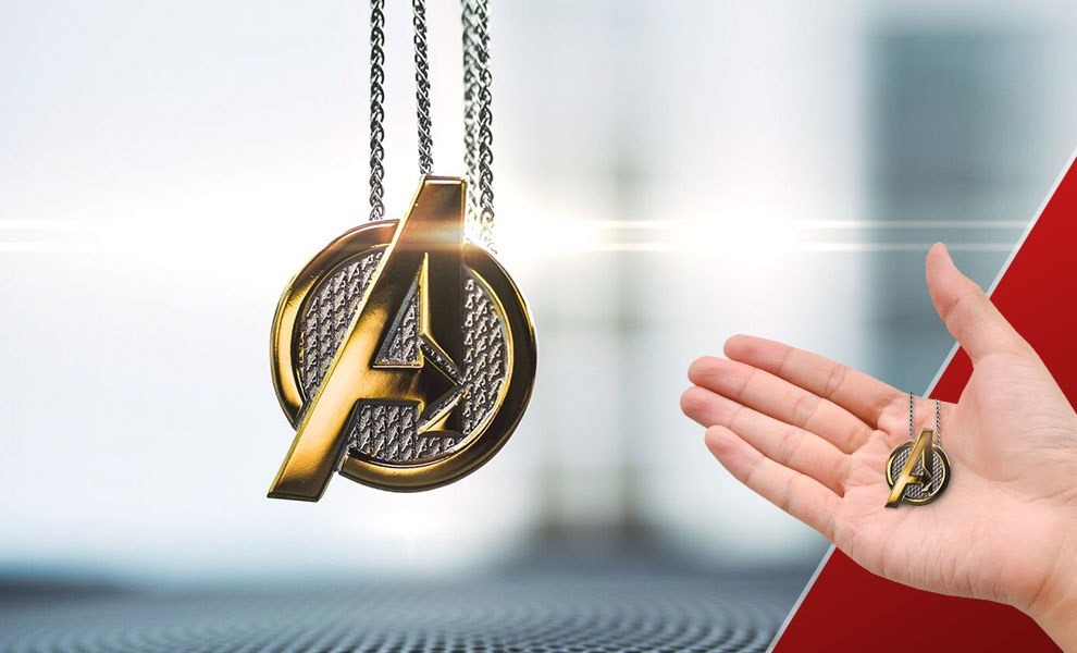 Gallery Feature Image of Avengers Necklace Jewelry - Click to open image gallery