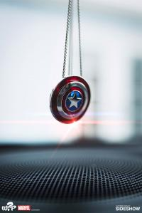 Gallery Image of Captain America Shield Necklace - Large Jewelry