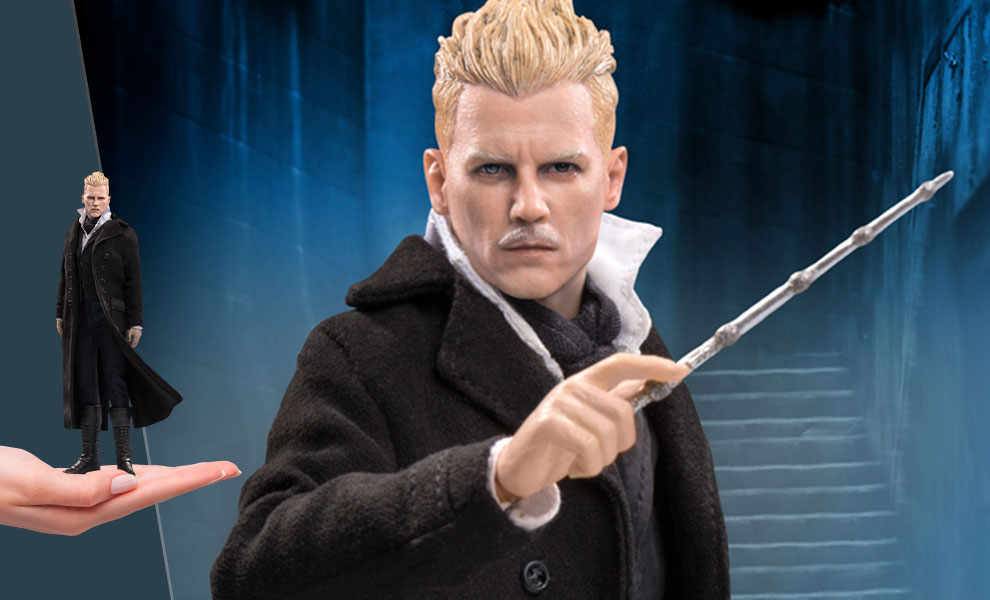 Gallery Feature Image of Gellert Grindelwald Collectible Figure - Click to open image gallery