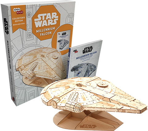 Insight Editions IncrediBuilds: Millennium Falcon Collector's Edition Collectible Set