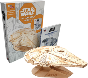 IncrediBuilds: Millennium Falcon Collector's Edition Collectible Set