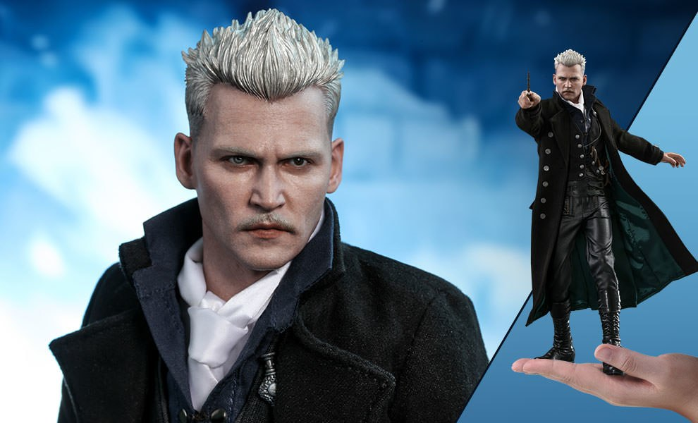 Gallery Feature Image of Gellert Grindelwald Sixth Scale Figure - Click to open image gallery