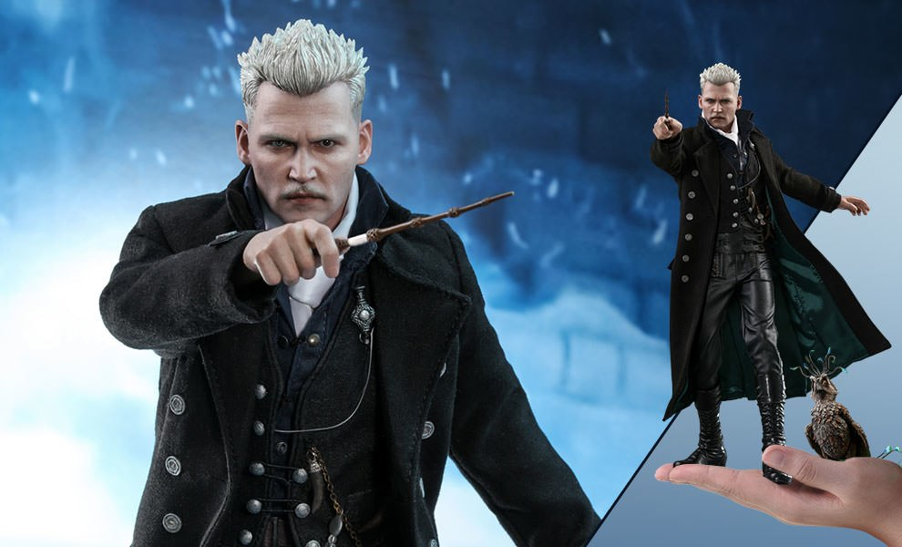 Gallery Feature Image of Gellert Grindelwald Special Edition Sixth Scale Figure - Click to open image gallery