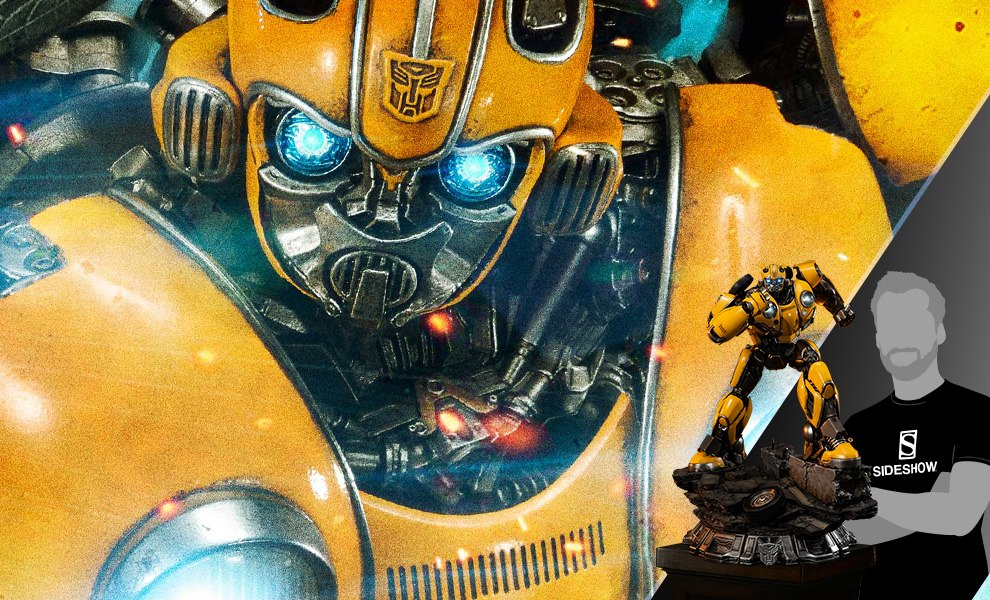 Gallery Feature Image of Bumblebee Statue - Click to open image gallery