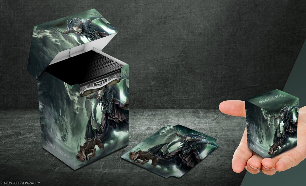 Gallery Feature Image of Death's Executioner Deck Case 80+ Gaming Accessories - Click to open image gallery
