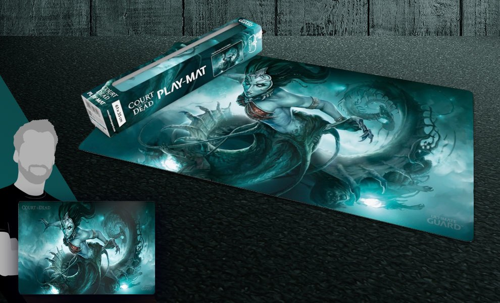 Gallery Feature Image of Death's Siren Play Mat Gaming Accessories - Click to open image gallery