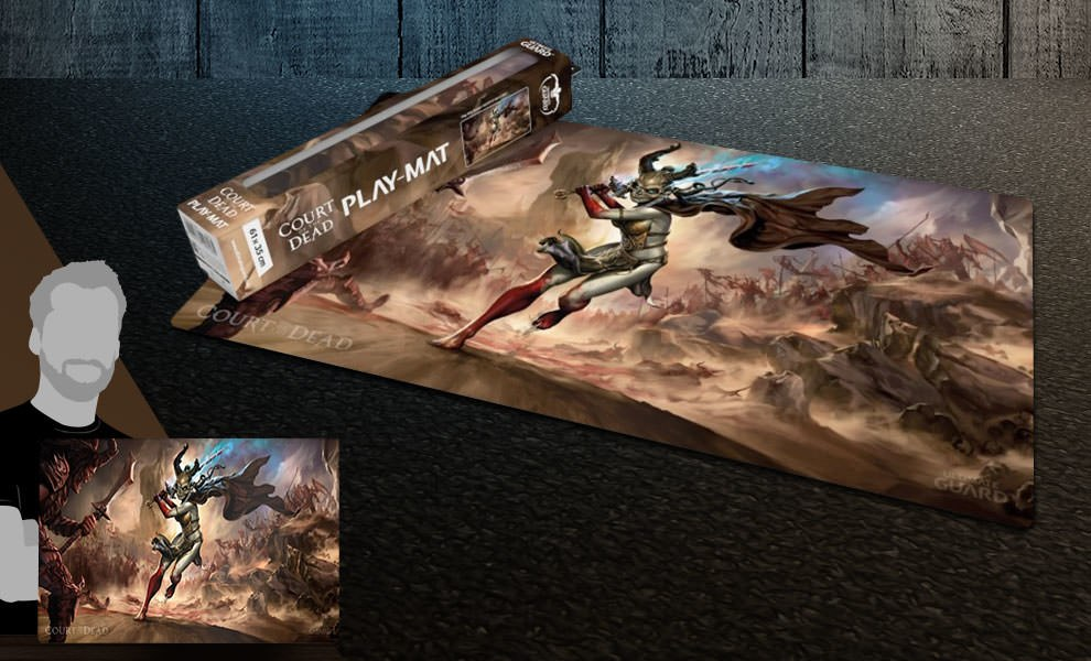 Gallery Feature Image of Valkyrie Play Mat Gaming Accessories - Click to open image gallery
