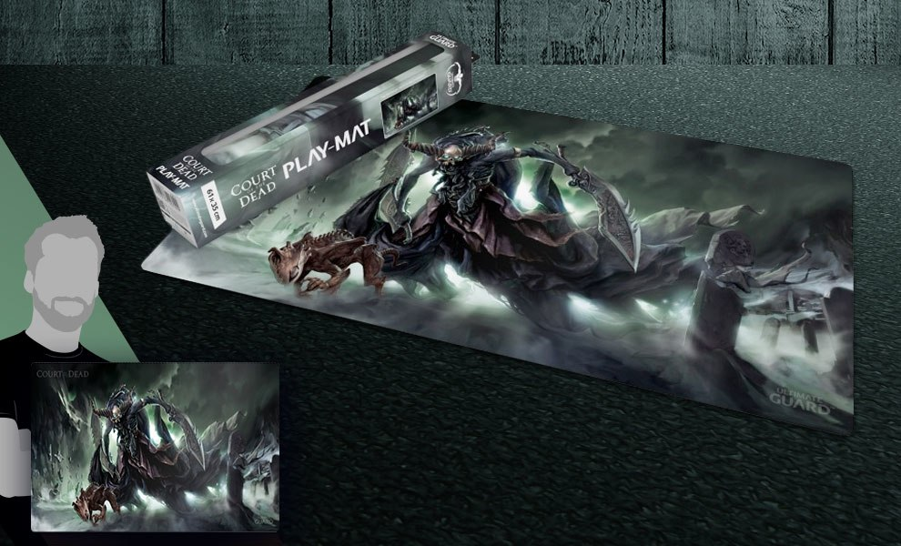 Gallery Feature Image of Death's Executioner Play Mat Gaming Accessories - Click to open image gallery