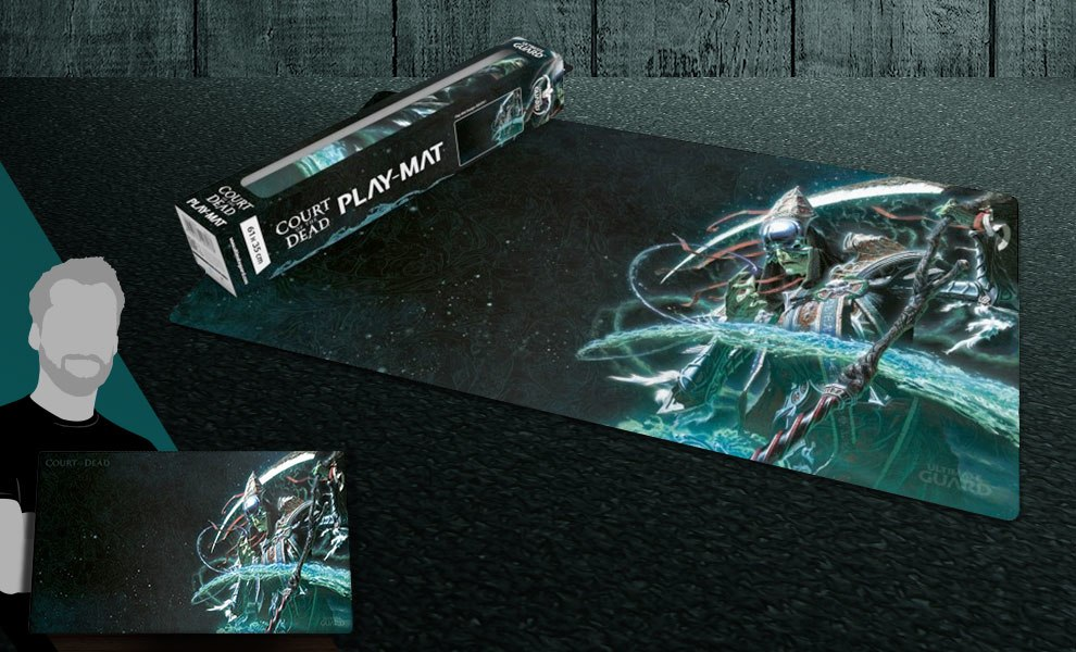 Gallery Feature Image of Death Play Mat Gaming Accessories - Click to open image gallery