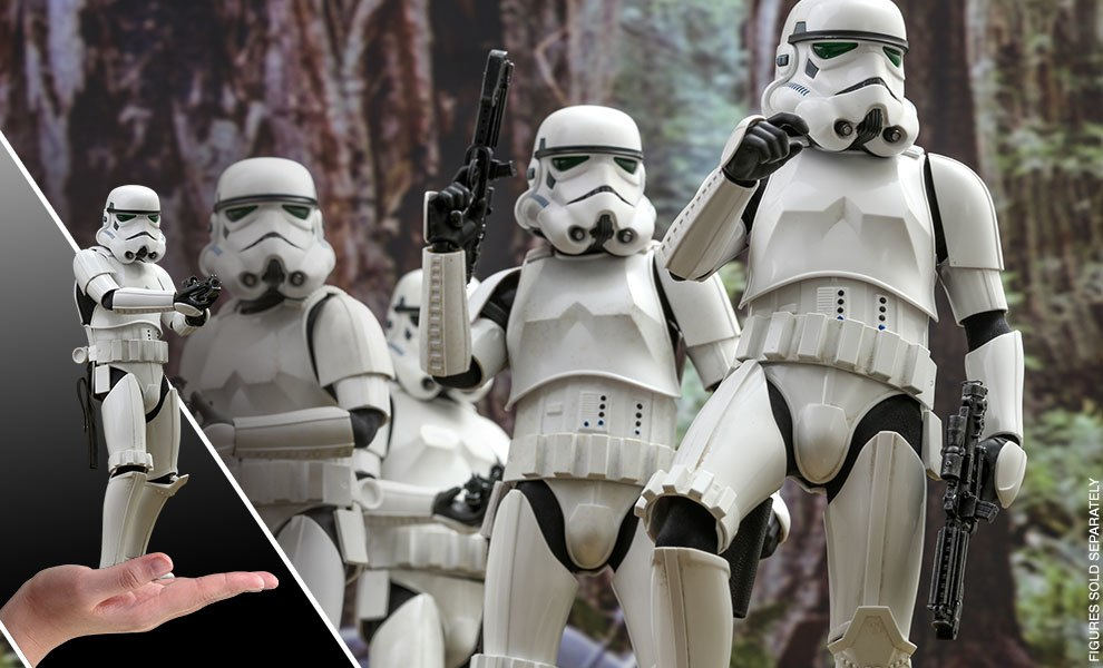 Gallery Feature Image of Stormtrooper Sixth Scale Figure - Click to open image gallery