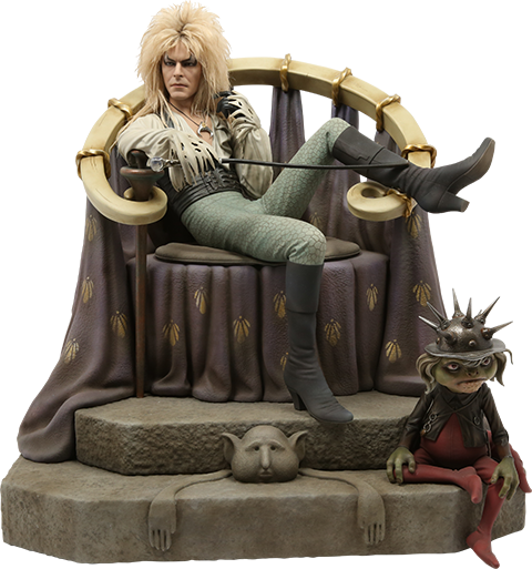 Chronicle Collectibles Jareth on the Throne Statue