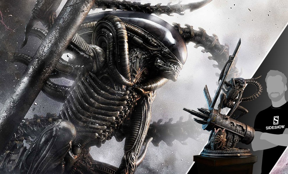 Gallery Feature Image of Scorpion Alien Statue - Click to open image gallery