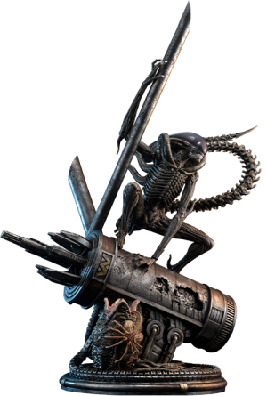 Scorpion Alien Statue