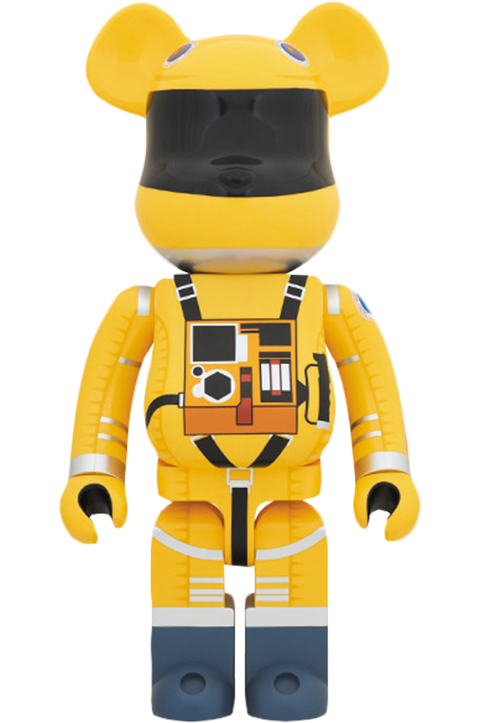 Medicom Toy Bearbrick Space Suit Yellow Version 1000 Figure