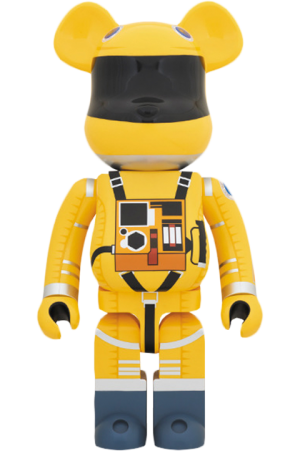Bearbrick Space Suit Yellow Version 1000 Figure