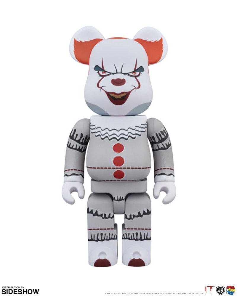 92b64229 It Bearbrick Pennywise 1000 Figure by Medicom Toy | Sideshow ...