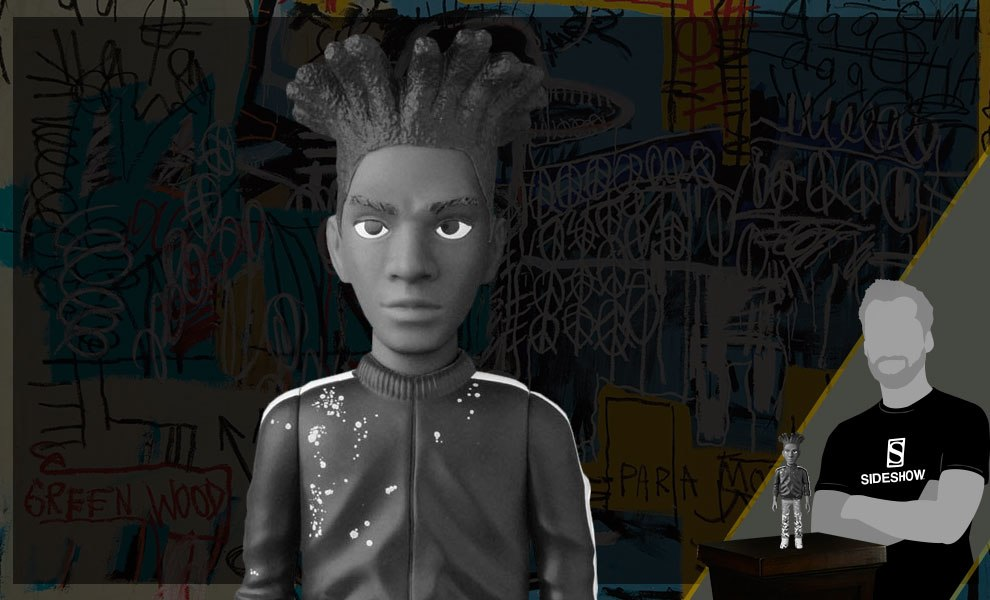 Gallery Feature Image of Jean-Michel Basquiat B and W Version Vinyl Collectible - Click to open image gallery