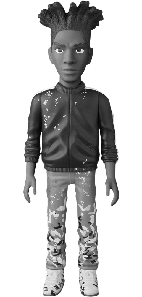 Medicom Toy Jean-Michel Basquiat B and W Version Vinyl Collectible