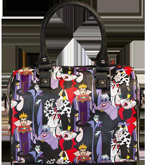 Loungefly Disney Villains Pebble Duffle Bag Apparel