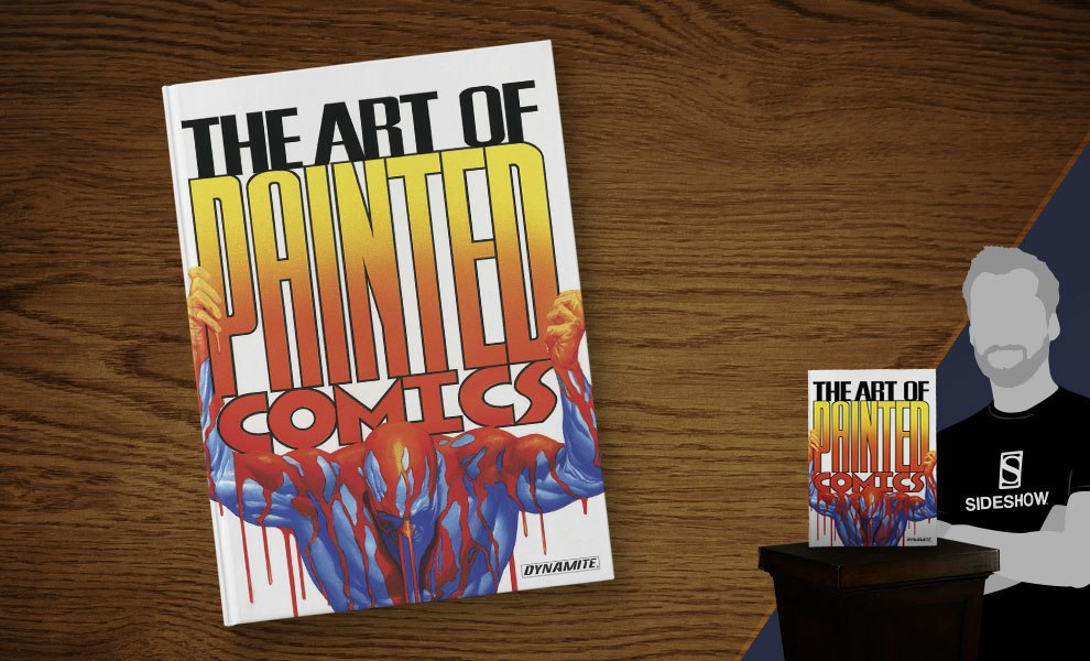 Gallery Feature Image of The Art of Painted Comics Book - Click to open image gallery