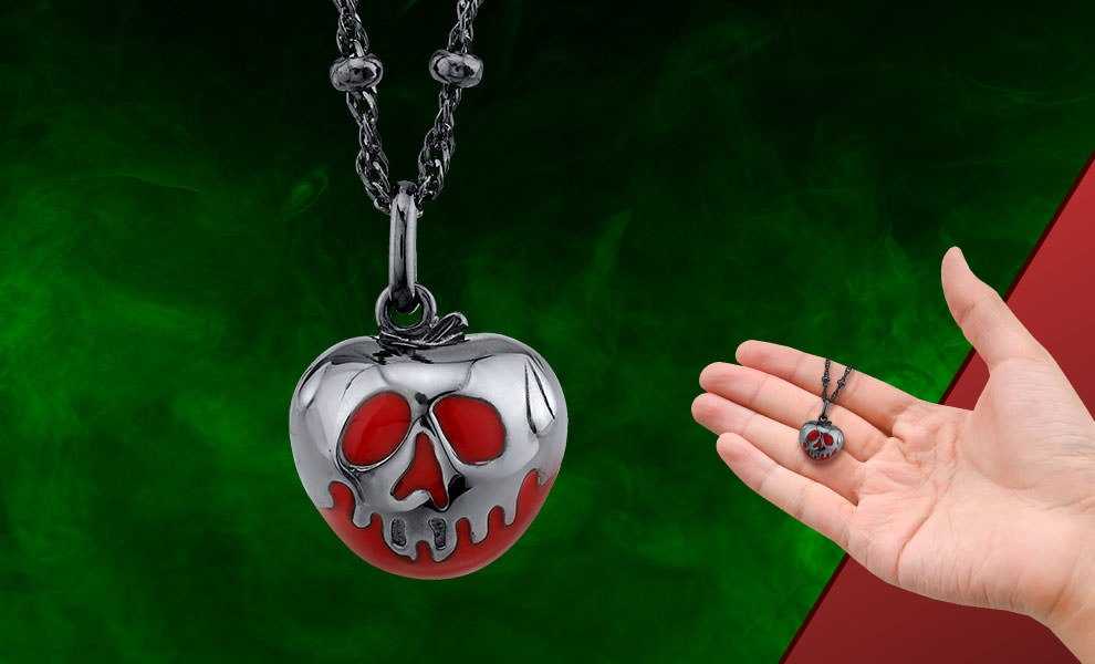 Gallery Feature Image of Poison Apple Necklace Jewelry - Click to open image gallery