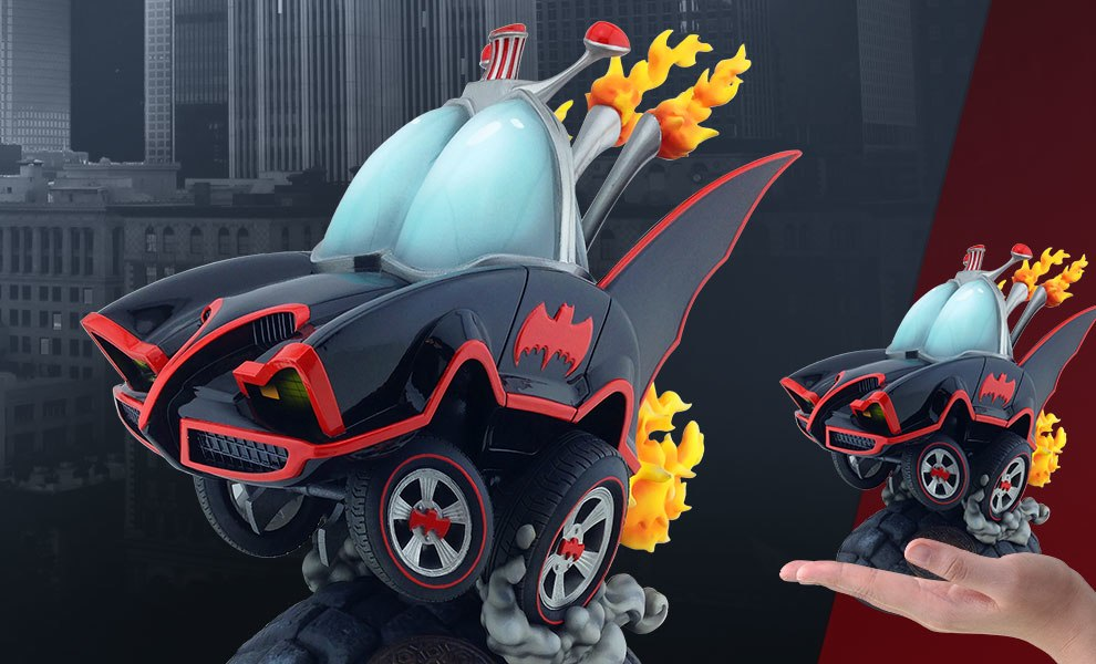 Gallery Feature Image of Classic TV Series Batmobile Statue - Click to open image gallery