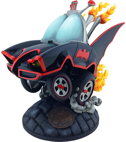 Cryptozoic Entertainment Classic TV Series Batmobile Statue