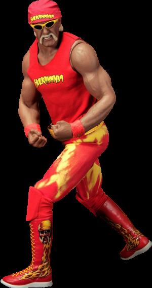 Hulk Hogan Hulkamania Sixth Scale Figure