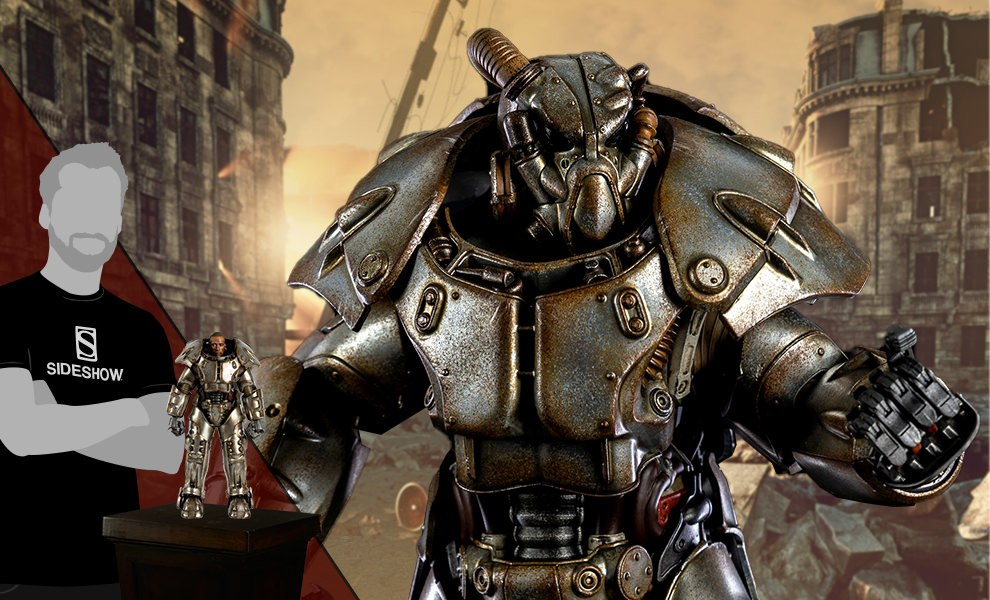 Gallery Feature Image of X-01 Power Armor Collectible Figure - Click to open image gallery