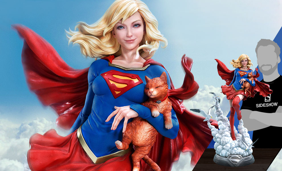 Gallery Feature Image of Supergirl Statue - Click to open image gallery