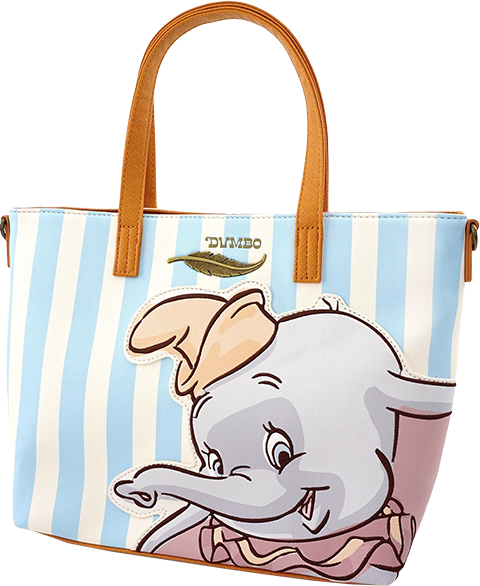 Loungefly Dumbo with Stripes Tote Bag Apparel