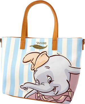 Dumbo with Stripes Tote Bag Apparel