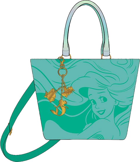 Loungefly The Little Mermaid Ocean Tote Bag Apparel