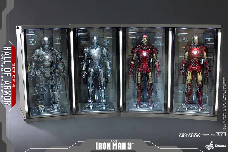 Marvel Hall of Armor Set of 4 Sixth Scale Figure Accessory b