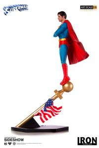 Gallery Image of Superman 1978 Deluxe 1:10 Scale Statue