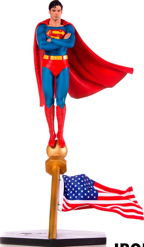 Iron Studios Superman 1978 Deluxe 1:10 Scale Statue