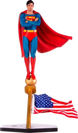 Superman 1978 Deluxe 1:10 Scale Statue