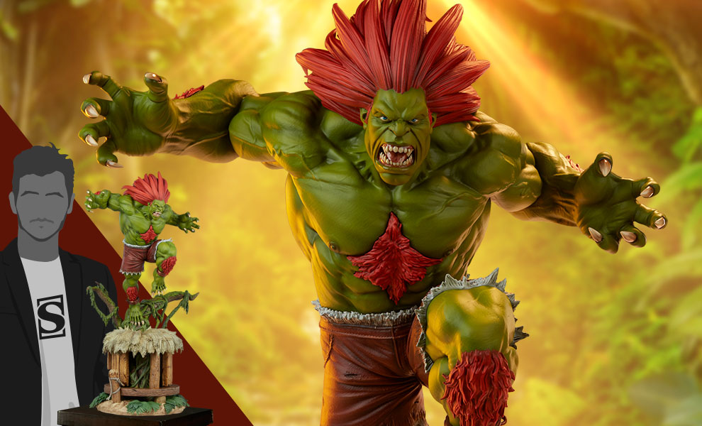 Gallery Feature Image of Blanka Ultra Statue - Click to open image gallery