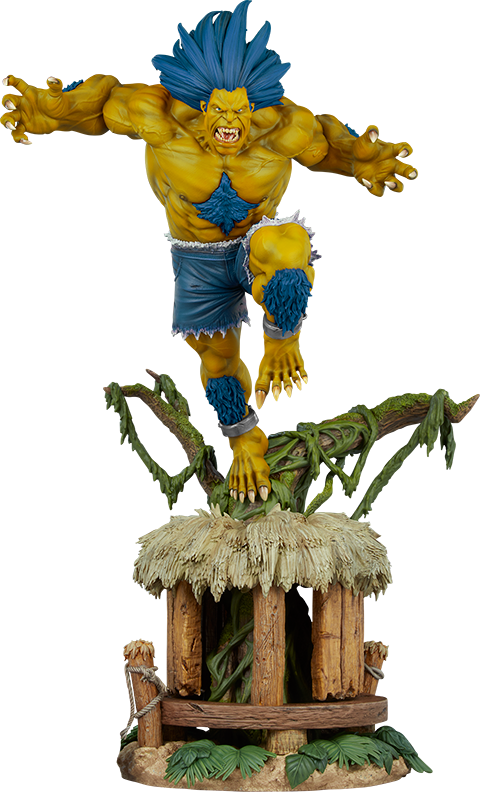 PCS Blanka (Player 2 Version) Ultra Statue