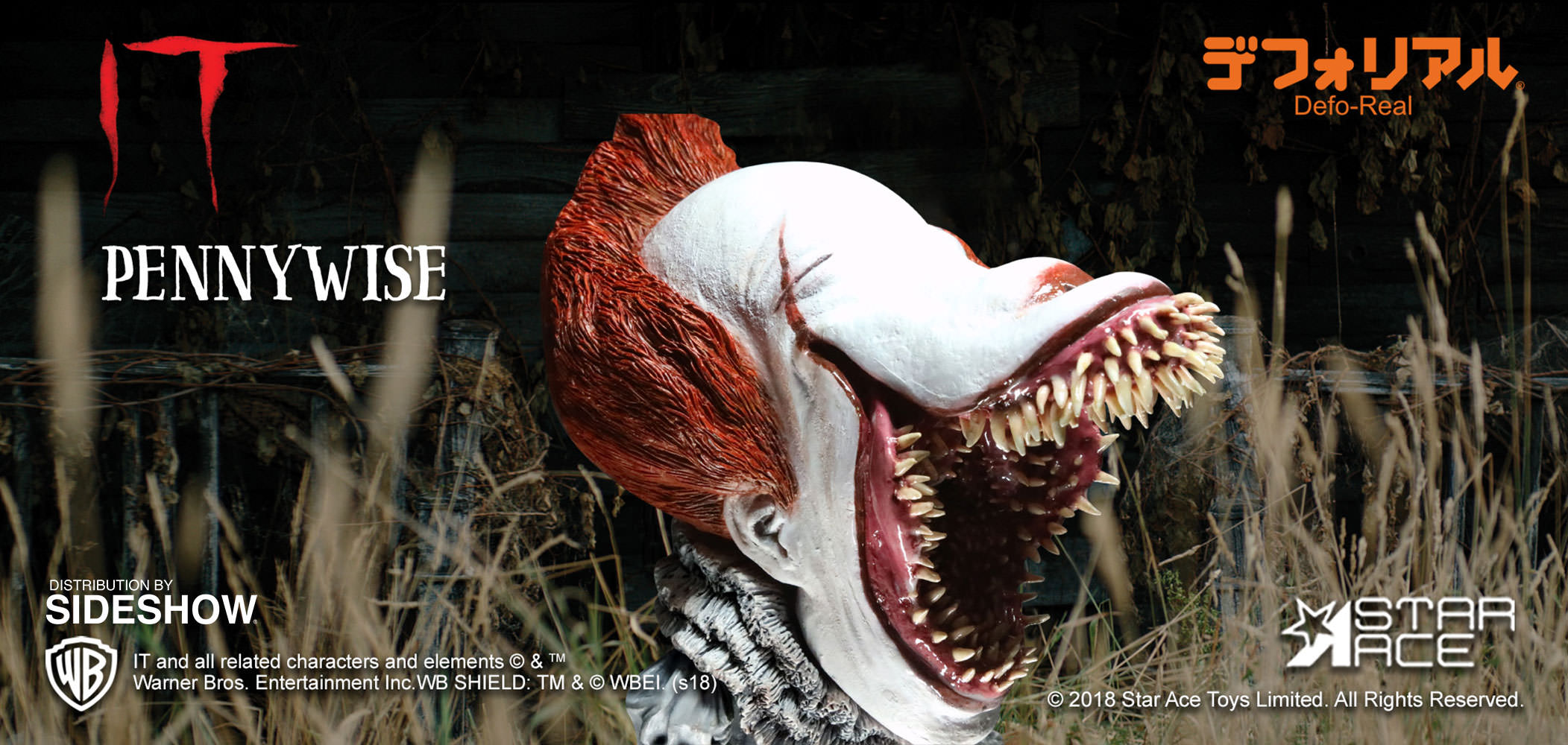 Pennywise Scary Light-Up Version Vinyl Collectible ...
