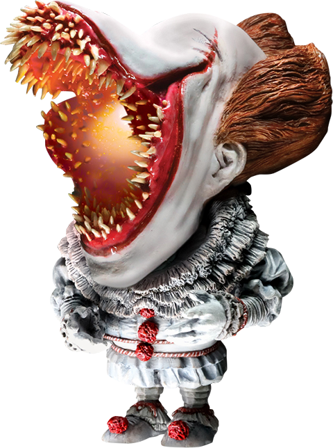 Star Ace Toys Ltd. Pennywise Scary Light-Up Version Vinyl Collectible